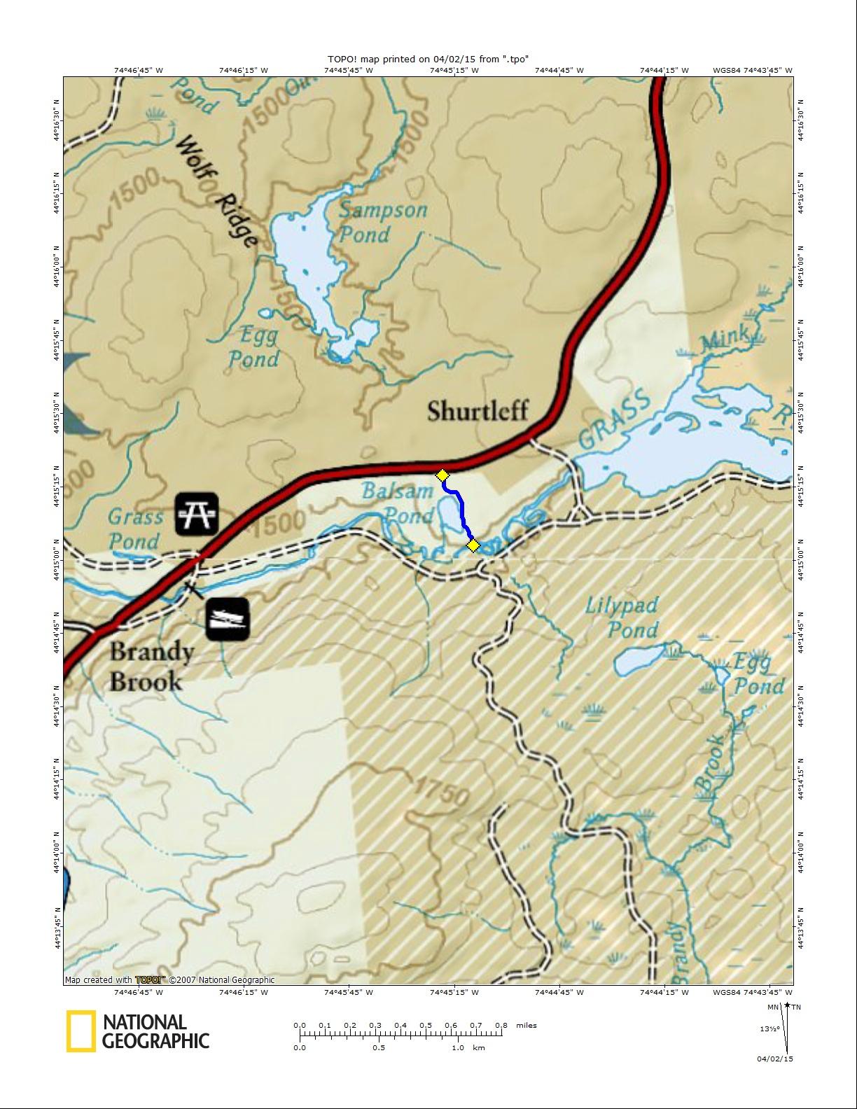 Balsam Map