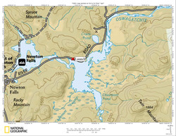 Chaumont Pond Map