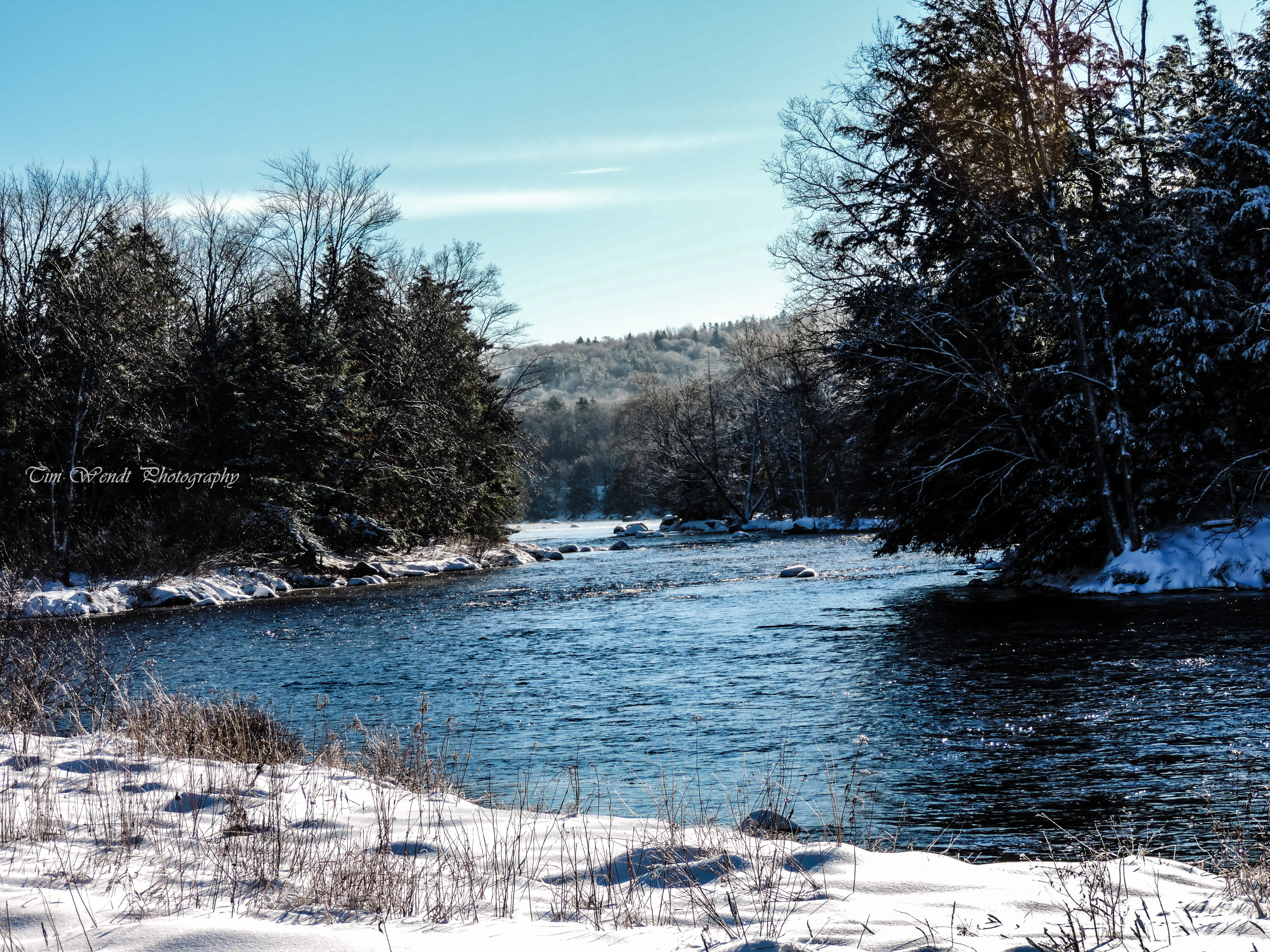 Oswegatchie River in Fine