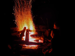 Campfire at the State Campground
