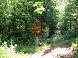Janack's Landing junction Sign