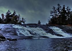 Lampson Falls late Autumn near Fine