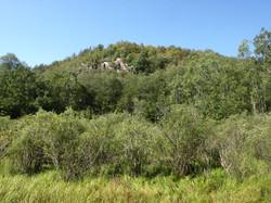 Looking toward Maple Mountain