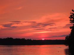 Sunrise Over Cranberry Lake