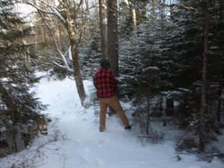 Copper Rock Falls Trail Winter