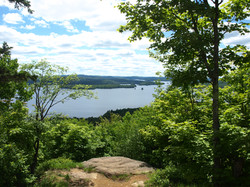 Cranberry Lake from Bear Mnt.