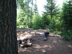 Camping along the Oswegatchie