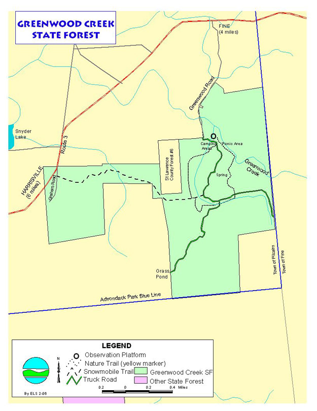 Greenwood Forest Map