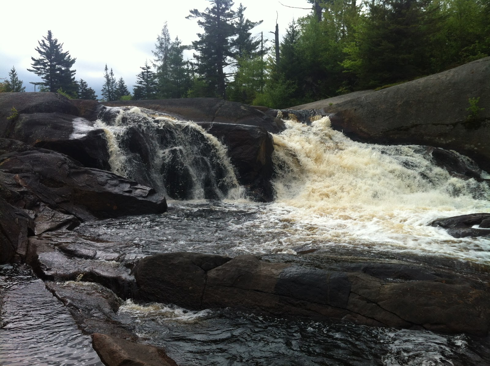 High Falls on the Oswegatchie River