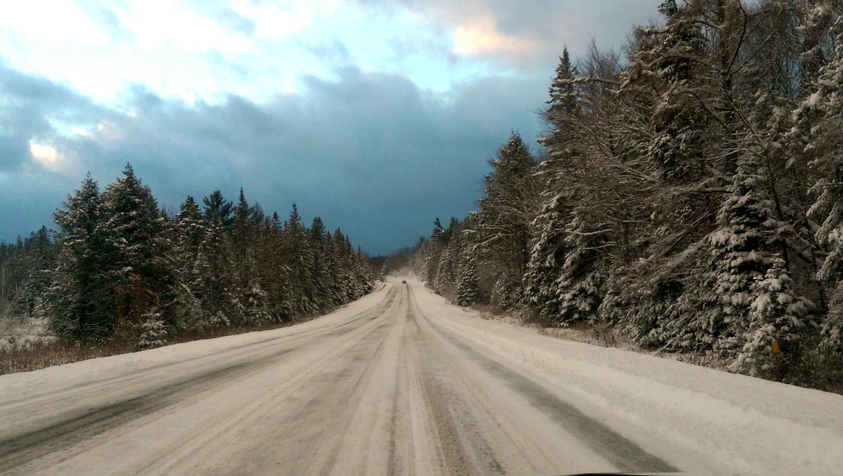 Entering the Adirondacks