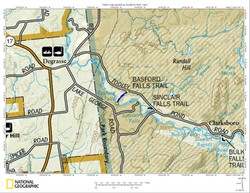 Basford Falls Map