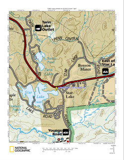 Star Lake Youngs Rd access map