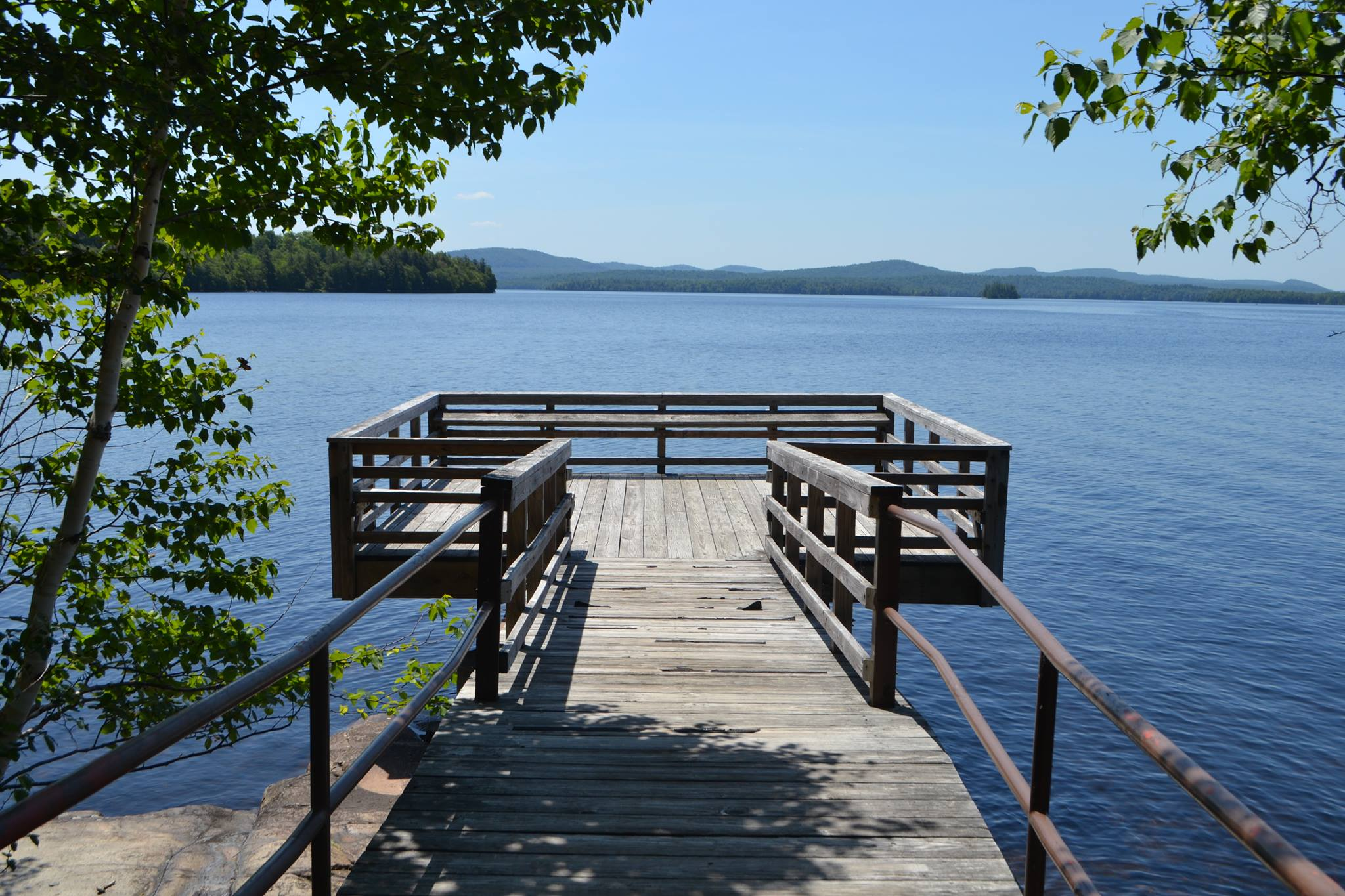Fishing Pier at the State Campground