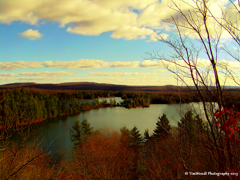 Birdseye of Aristocrat Bay Star Lake