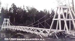 Wanakena Footbridge