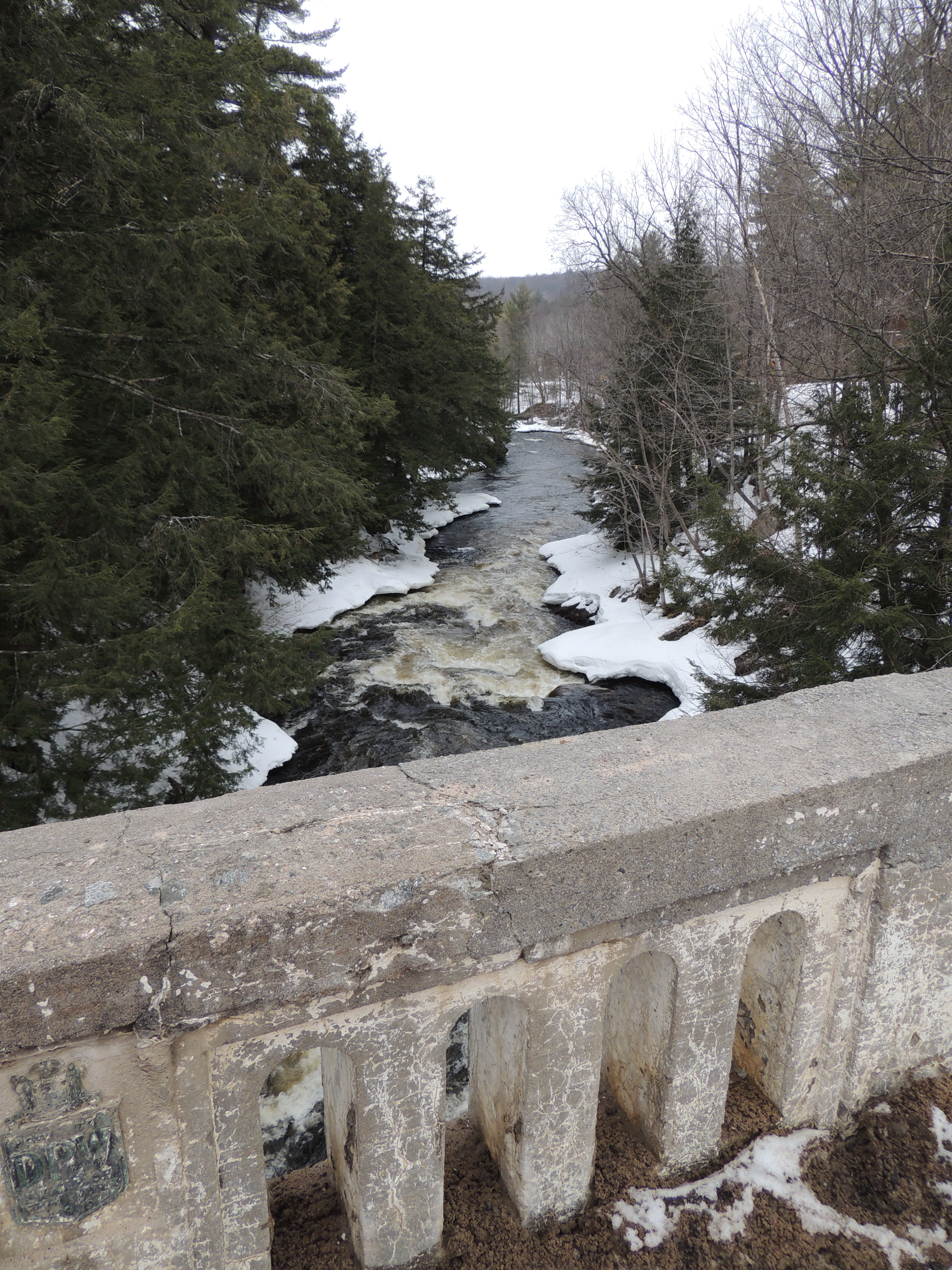Oswegatchie from the Old Car Bridge