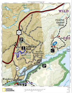 Cathedral Rock Road Map