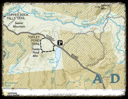 Tooley Pond Map
