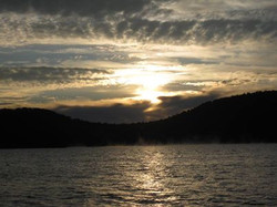 Sunrise over Bear Mountain
