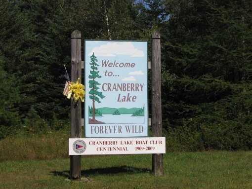 Welcome to Cranberry Lake