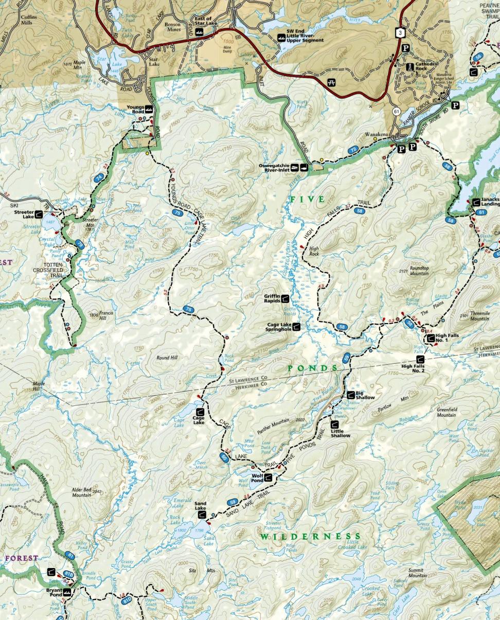 FivePondsWilderness Map
