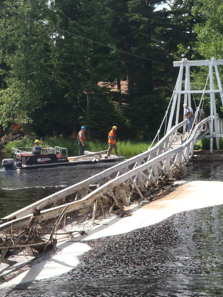 Removal of the bridge