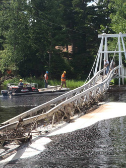 Removal of the bridge