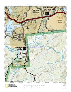 Youngs road Access Map