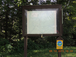 Map Kiosk at Inlet