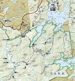 Five Ponds Wilderness Map 2