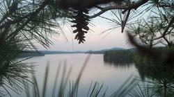 Birds eye of Cranberry Lake