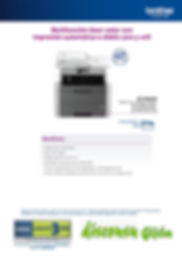 Oferta impresora Laser Color Brother DCP-9020DW