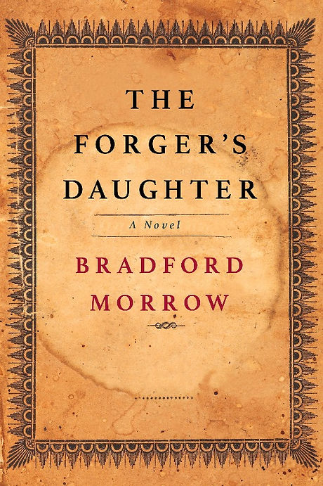 The Forger's Daughter front cover