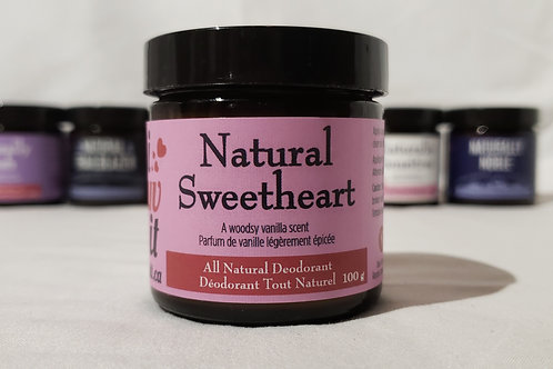 Natural Sweetheart - Spiced Vanilla Scent