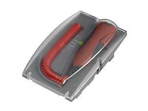 4EVAC-4E-FM-microphone pompier, version murale ou pupitre