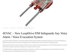 4EVAC – New LoopDrive FIM Safeguards Any Voice Alarm / Voice Evacuation System