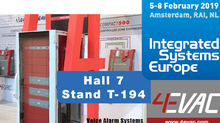 Brace Yourself for IMPACT! 4EVAC's new IMPACT system products will be launched at ISE Amsterdam
