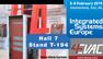 Préparez-vous à IMPACT! Lancement des nouveaux produits du système IMPACT de 4EVAC à ISE2019. Hall 7