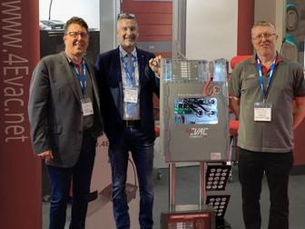 4EVAC UK ltd makes and impact at FIREX 2019