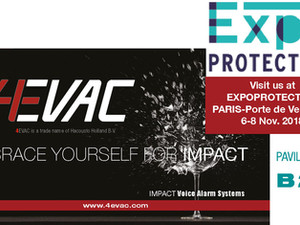 BRACE YOURSELF FOR IMPACT at Expoprotection- France / Paris - 6-8 November 2018