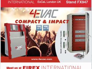 4EVAC FIREX UK EXHIBITION