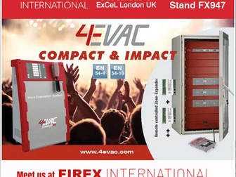 4EVAC FIREX UK EXHIBITION