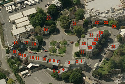 Ariel View of Warner Brothers Lot