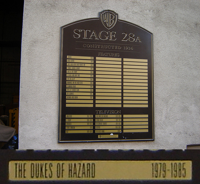Stage 28A at Warner Brothers