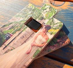 Wood USB 3