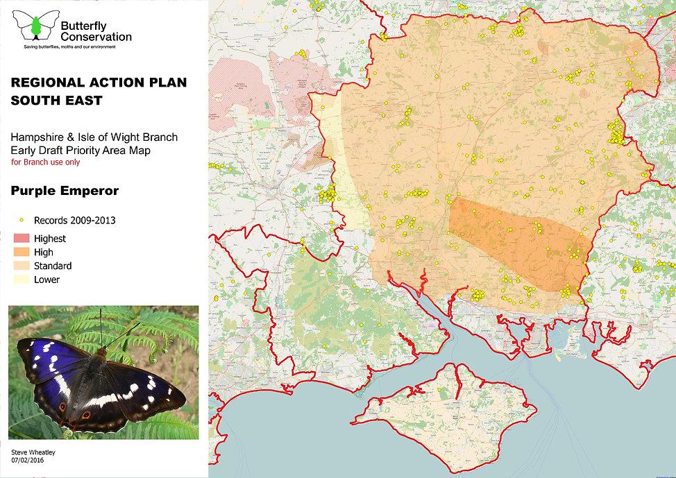 Map - Regional Action Plan - 1st draft -