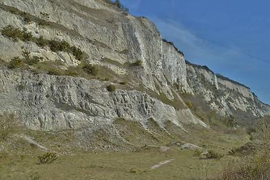 Portsdown Hill Cliff face.jpg