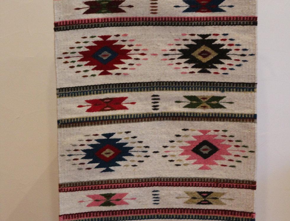 Casa Zapoteca Original Blanco B 自然染料 (50x70cm)