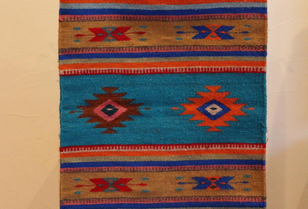 Casa Zapoteca Original Turquoise A (50x70cm)