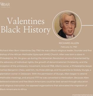 Valentines Black History